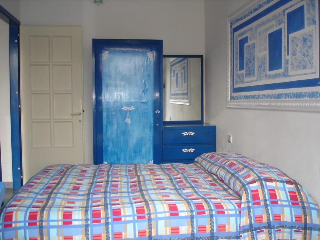 Cama o camas de una habitación en La Porta Blu
