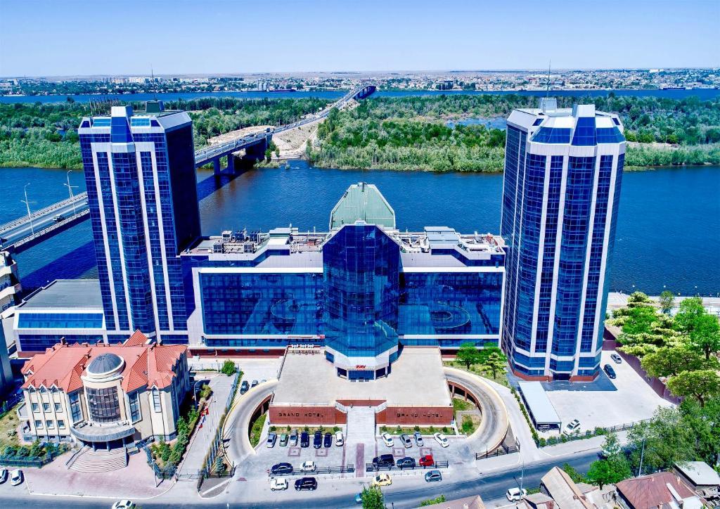 Гранд Отель Астрахань с высоты птичьего полета