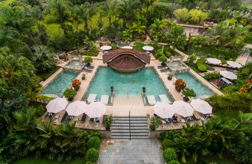 A bird's-eye view of The Royal Corin Thermal Water Spa & Resort - Adults Only