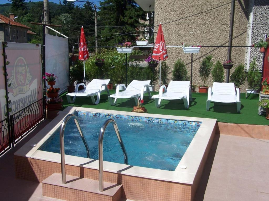 The swimming pool at or near Family Hotel Vityaz House
