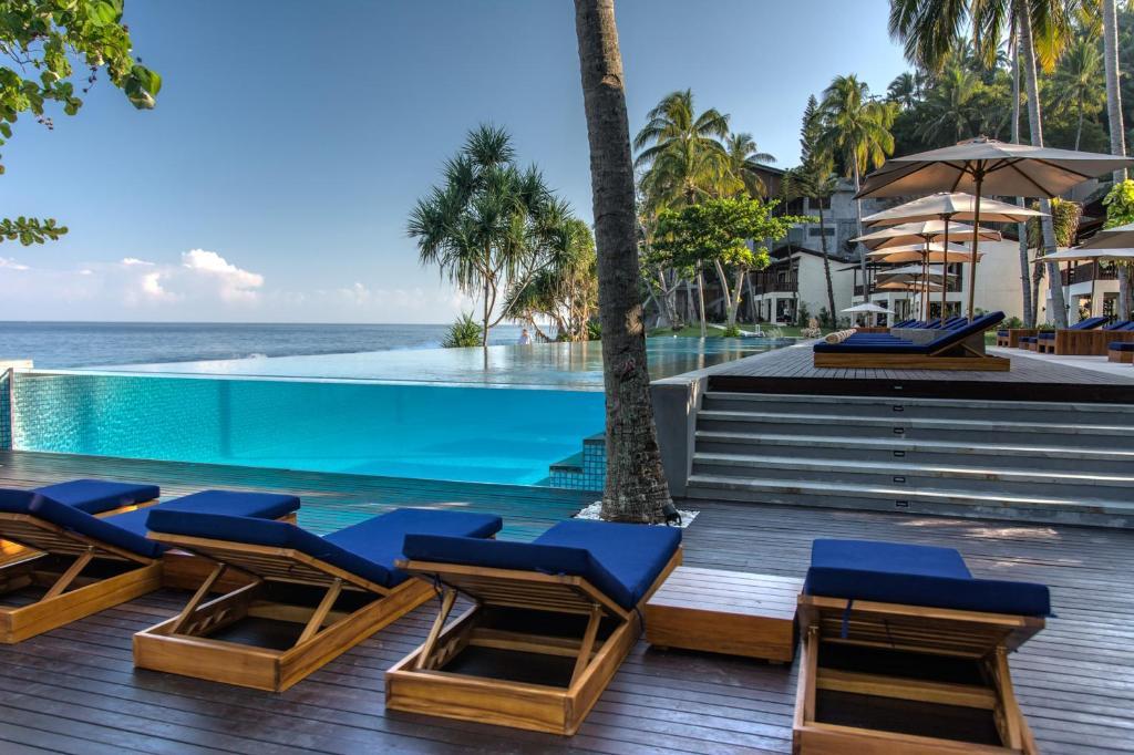 المسبح في فندق ومنتجع كاتاماران أو بالجوار