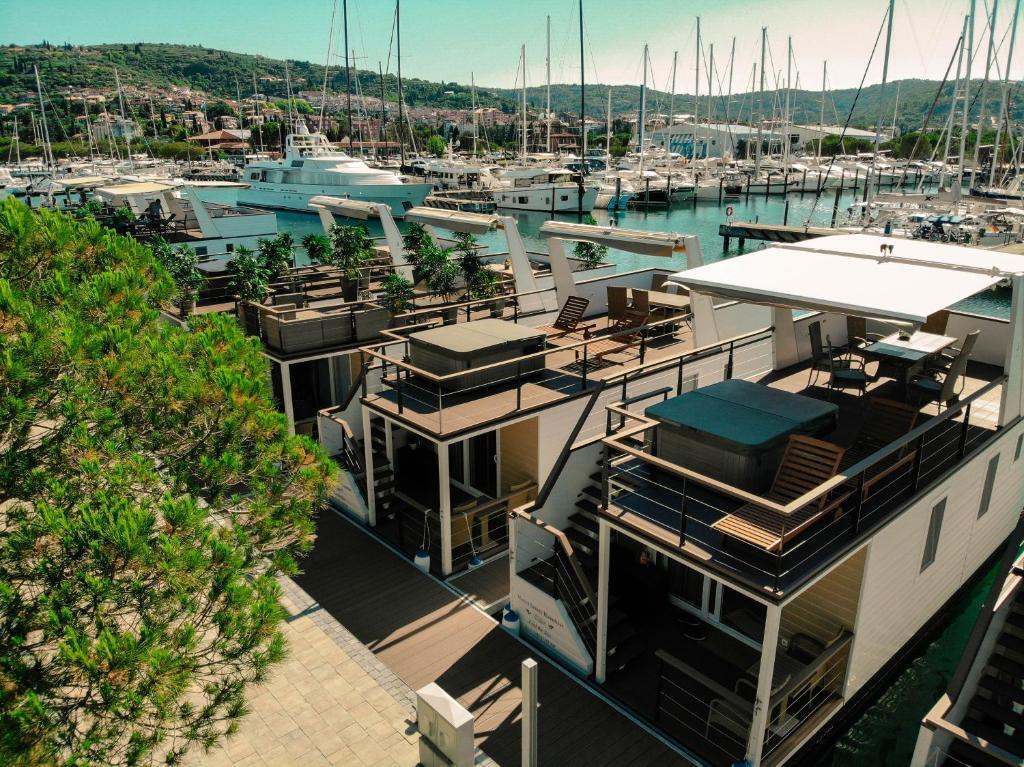 Portorose Slovenia Cartina Geografica.Marina Luxury Houseboat Lace Portorose Prezzi Aggiornati Per Il 2021