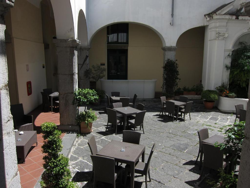 A restaurant or other place to eat at Ave Gratia Plena
