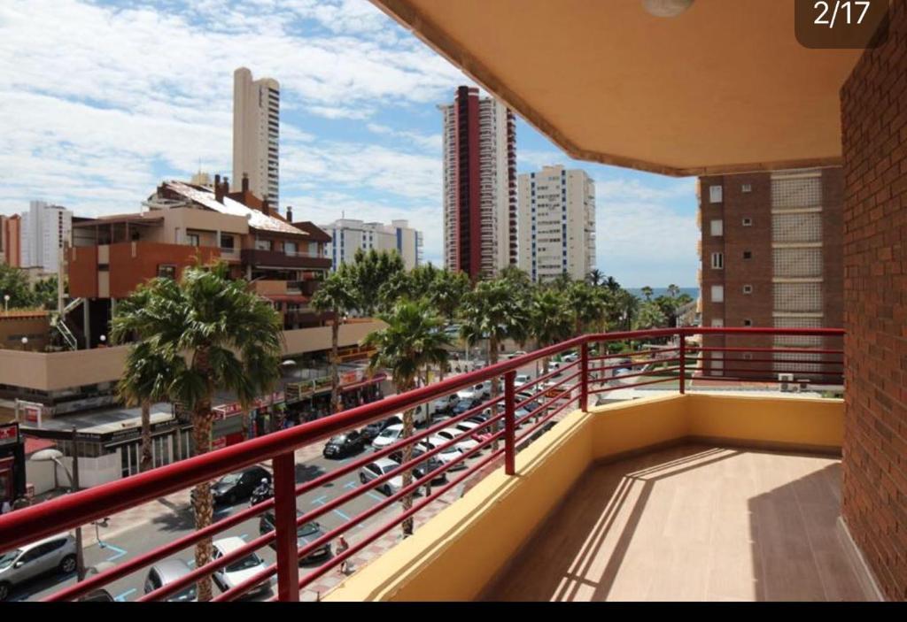 A balcony or terrace at Carlos V Levante