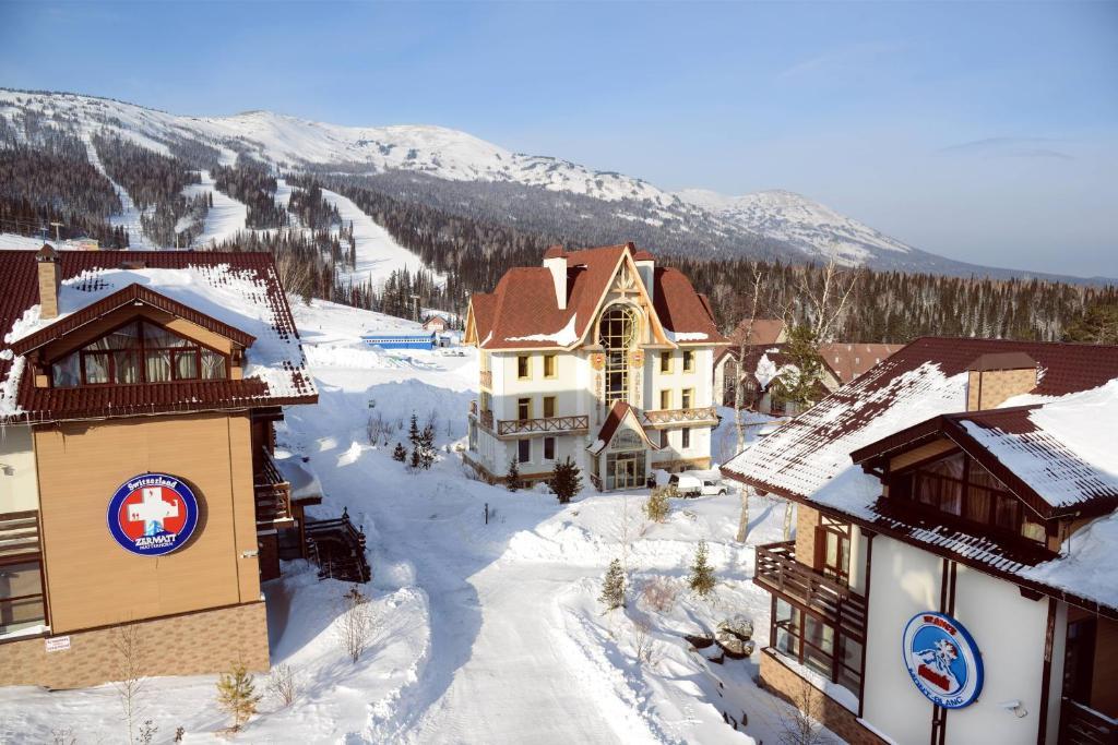 Альпен Клаб зимой