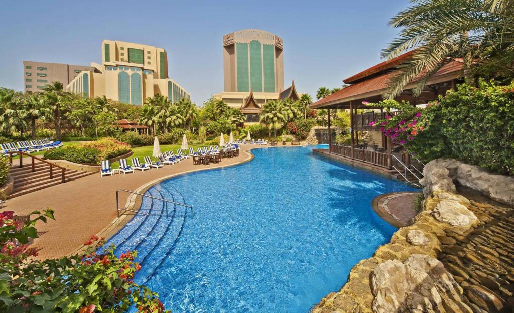 The swimming pool at or near Gulf Hotel Bahrain