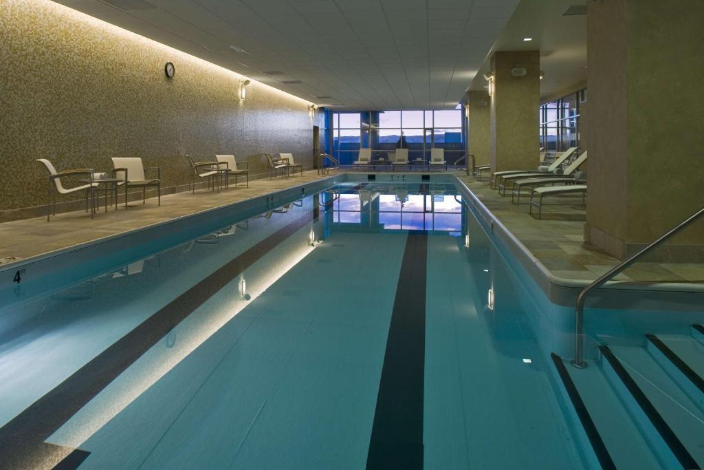 The swimming pool at or near Hyatt Regency Denver at Colorado Convention Center