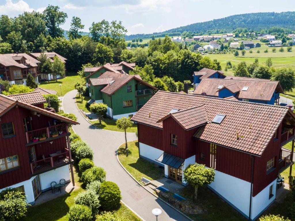 A bird's-eye view of Feriendorf Glasgarten