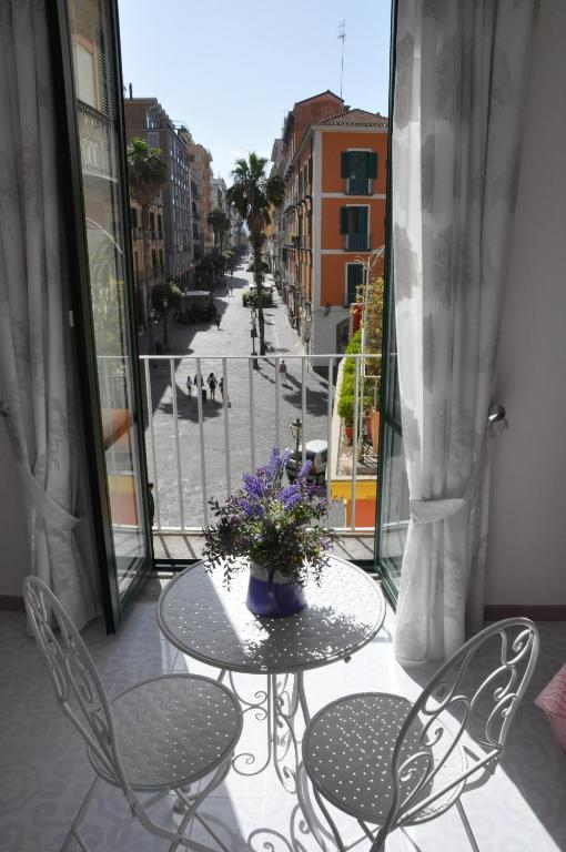 A balcony or terrace at SALERNO COSTA D'AMALFI SUITE