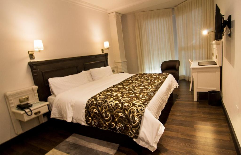 Cama o camas de una habitación en Avent Verahotel
