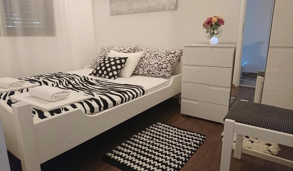 Letto o letti in una camera di Apartments Vuleta