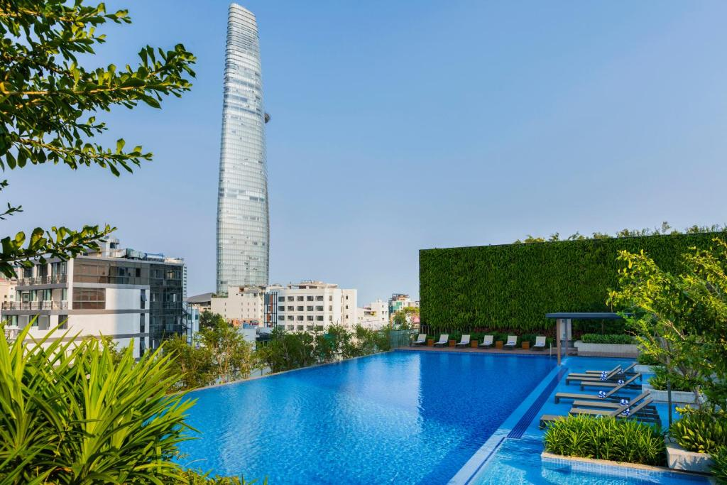 The swimming pool at or near Sedona Suites Ho Chi Minh City