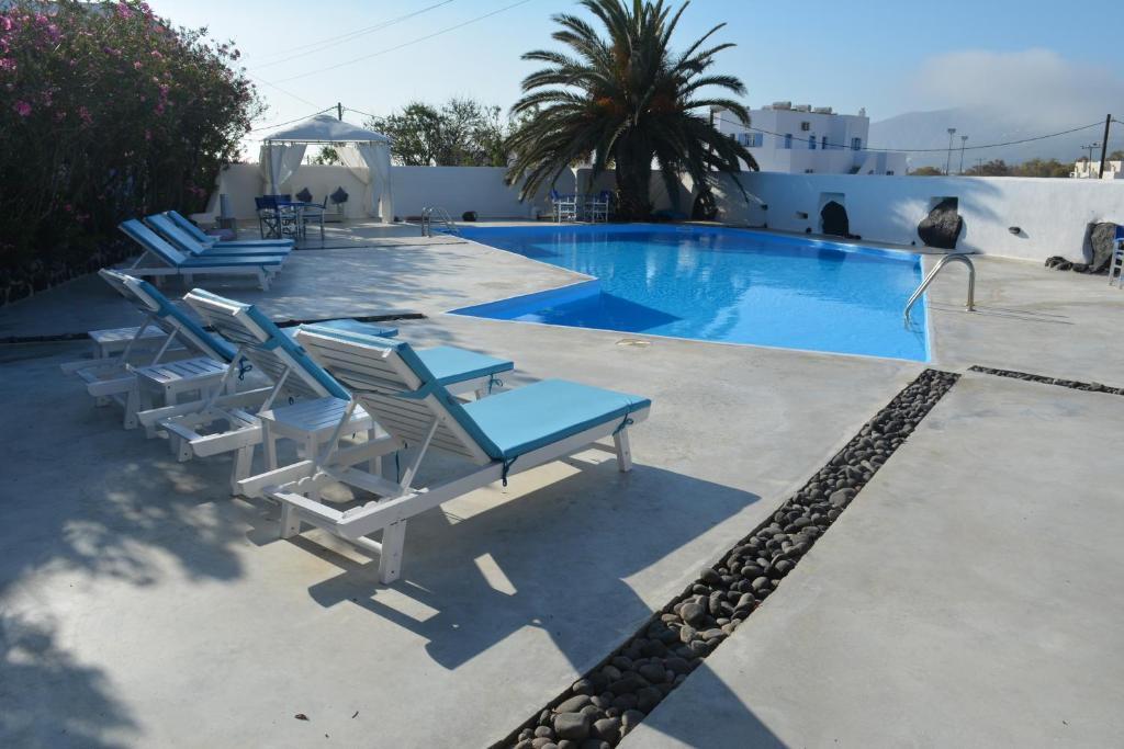 Πισίνα στο ή κοντά στο Melina Hotel