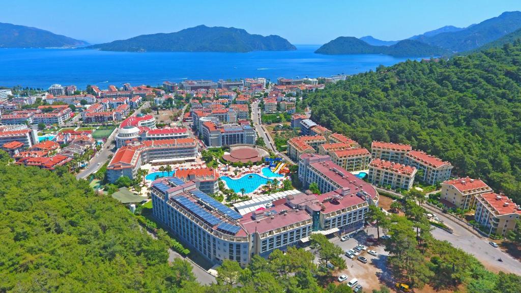 Green Nature Resort and Spa с высоты птичьего полета