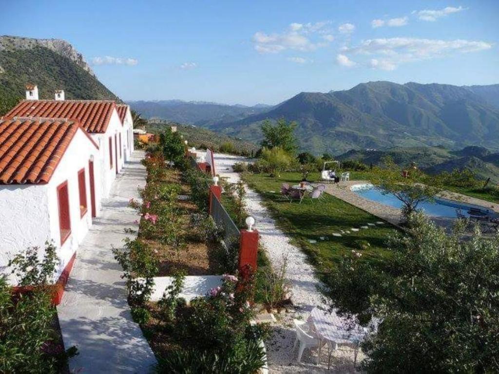 Vista de la piscina de Hacienda el Mirador o alrededores