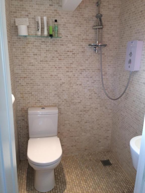 A bathroom at Eydon B&B