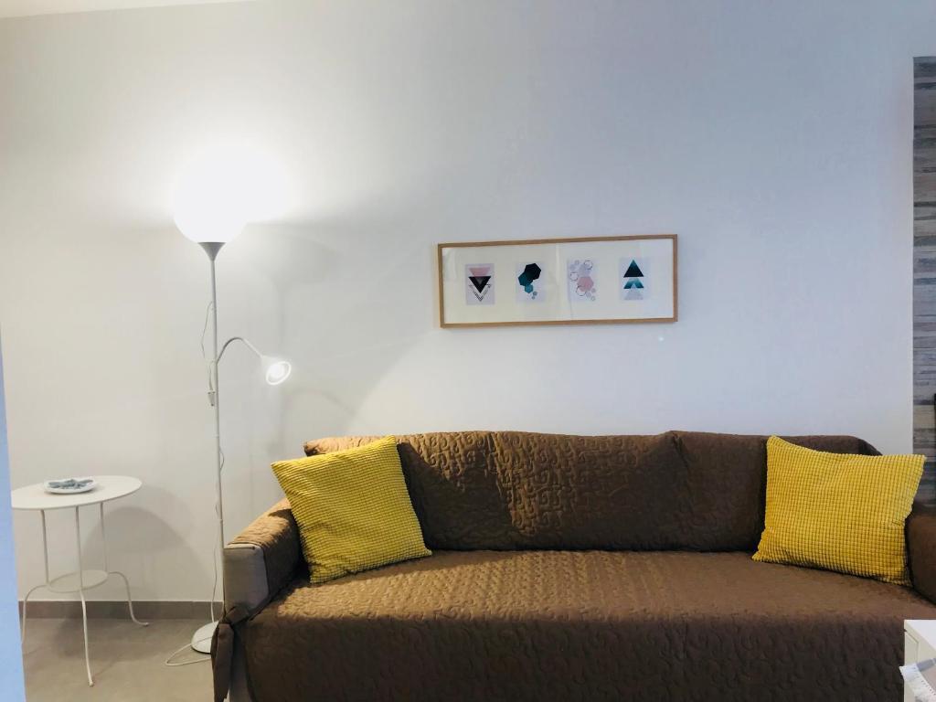 A seating area at casa serena