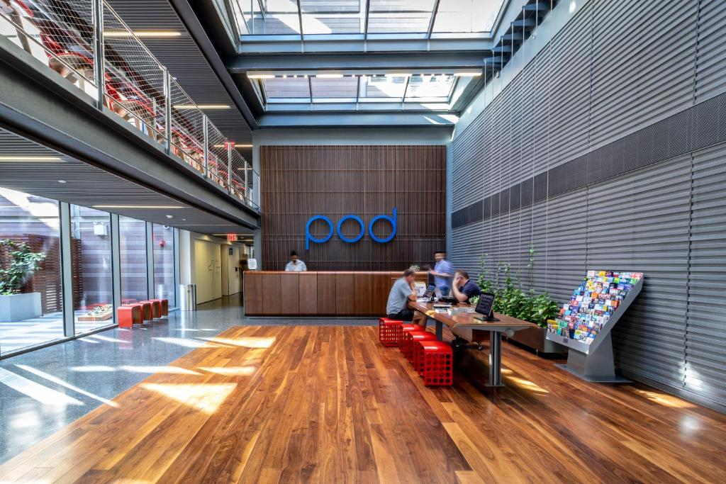 Hall ou réception de l'établissement Pod Brooklyn