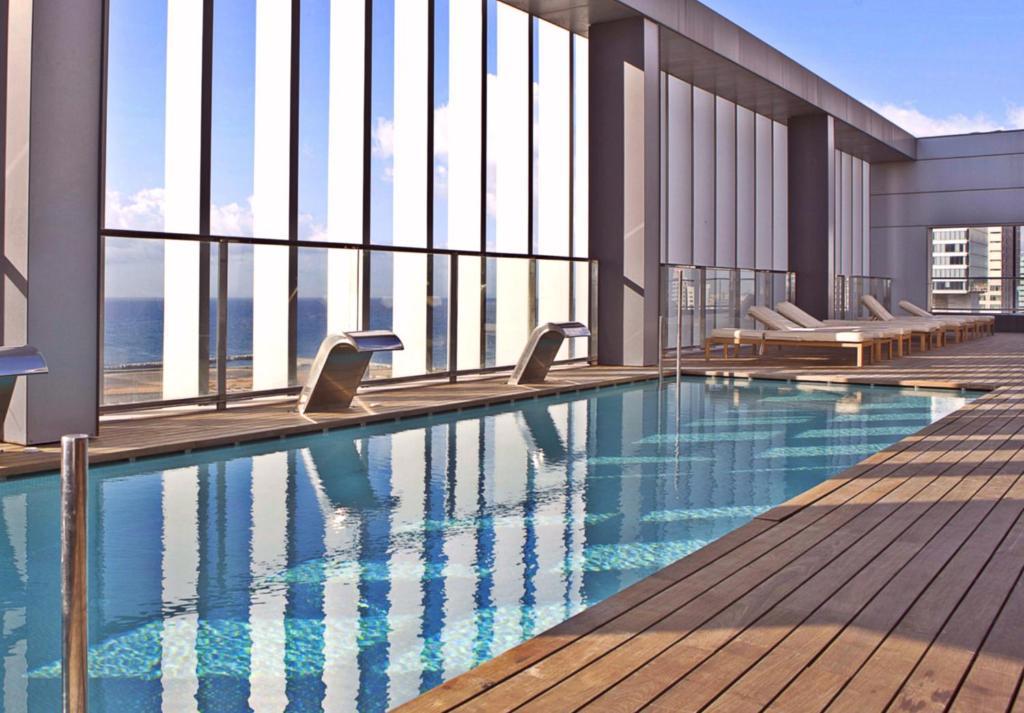 The swimming pool at or near Hotel SB Diagonal Zero Barcelona 4* Sup
