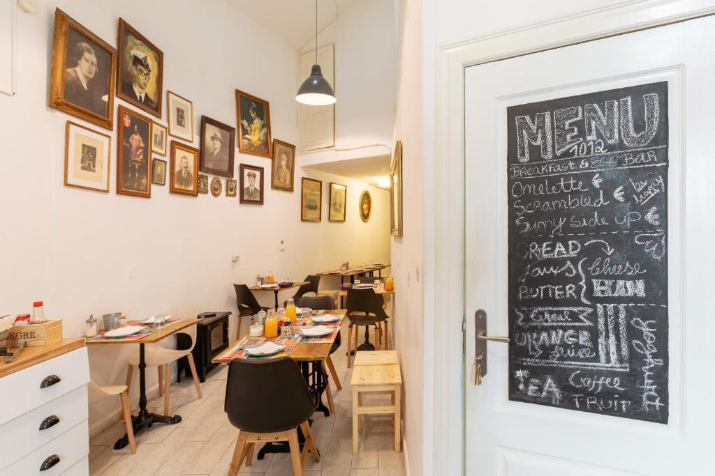 Restaurant ou autre lieu de restauration dans l'établissement Sintra1012 Boutique Guesthouse