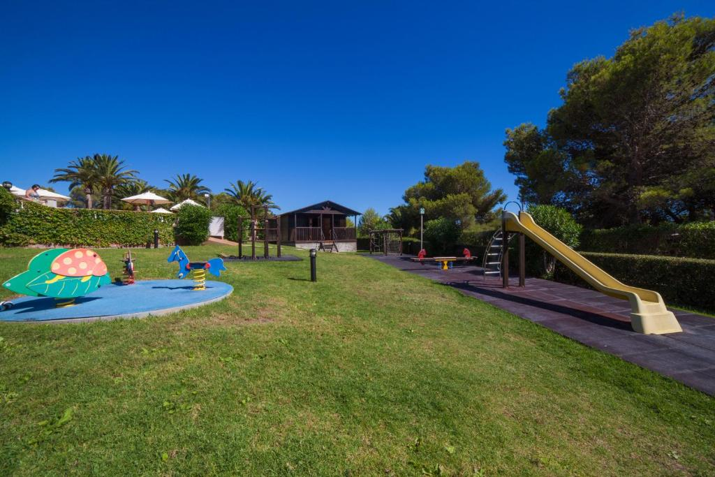 Children's play area at Valentin Son Bou