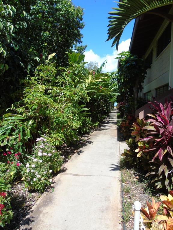 A garden outside Aloha KAI - Resort Condo