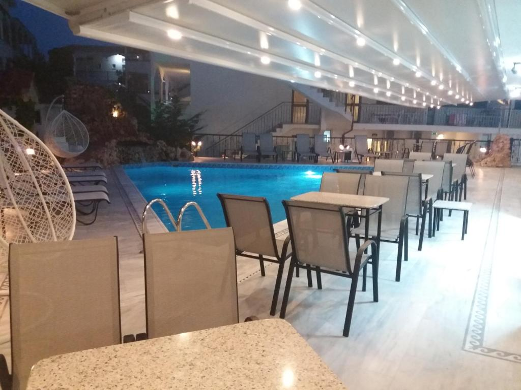 The swimming pool at or near Pegasus Hotel