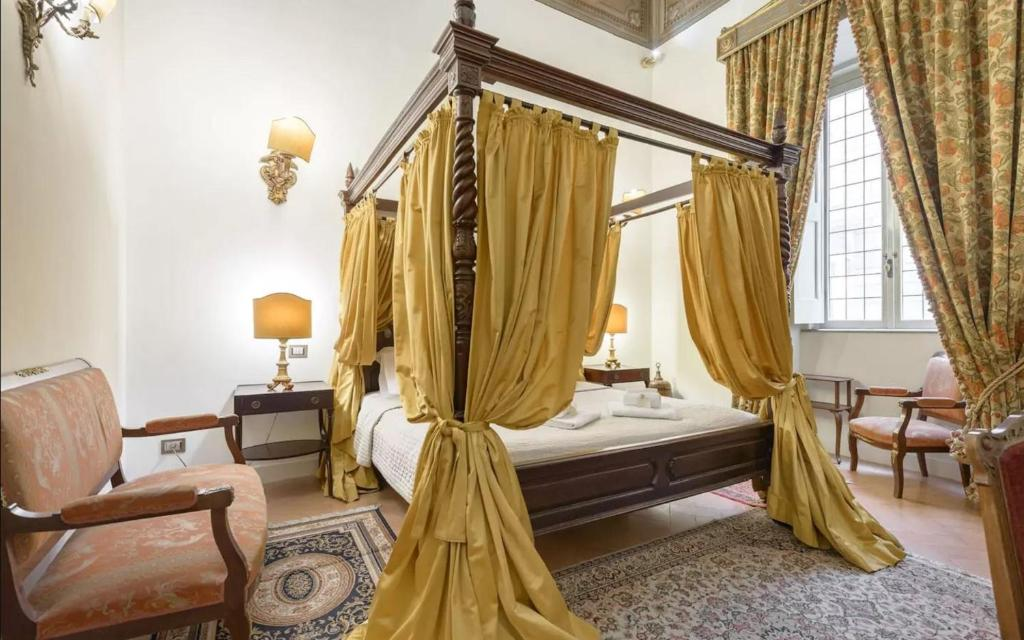Letto o letti in una camera di Residenza Sinibaldi
