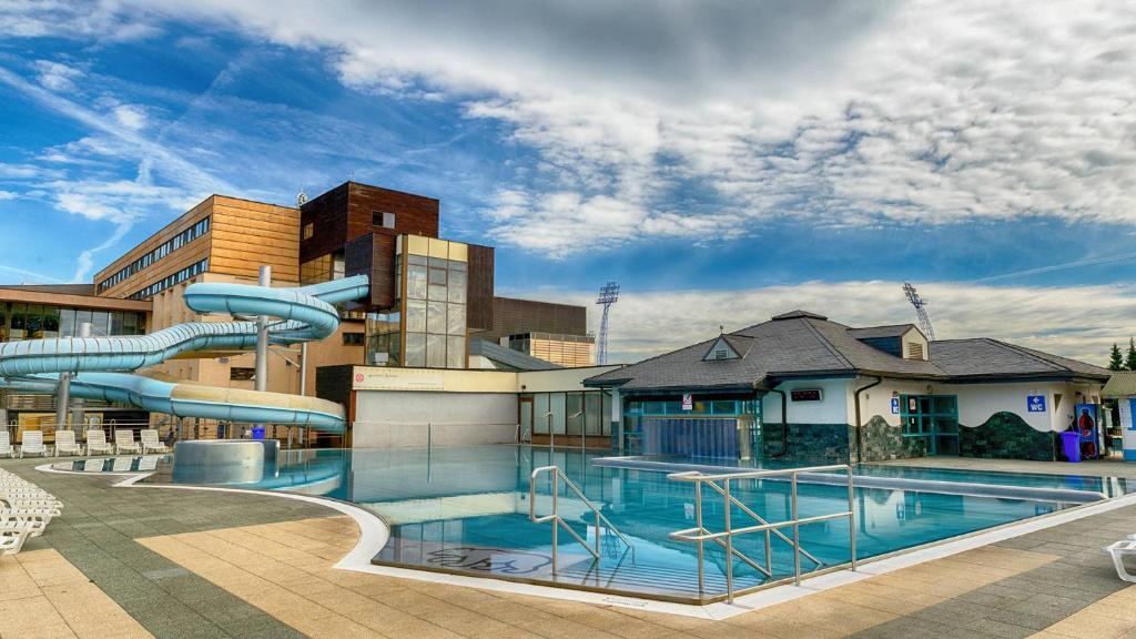 Hotel AquaCity Riverside Poprad, Slovakia