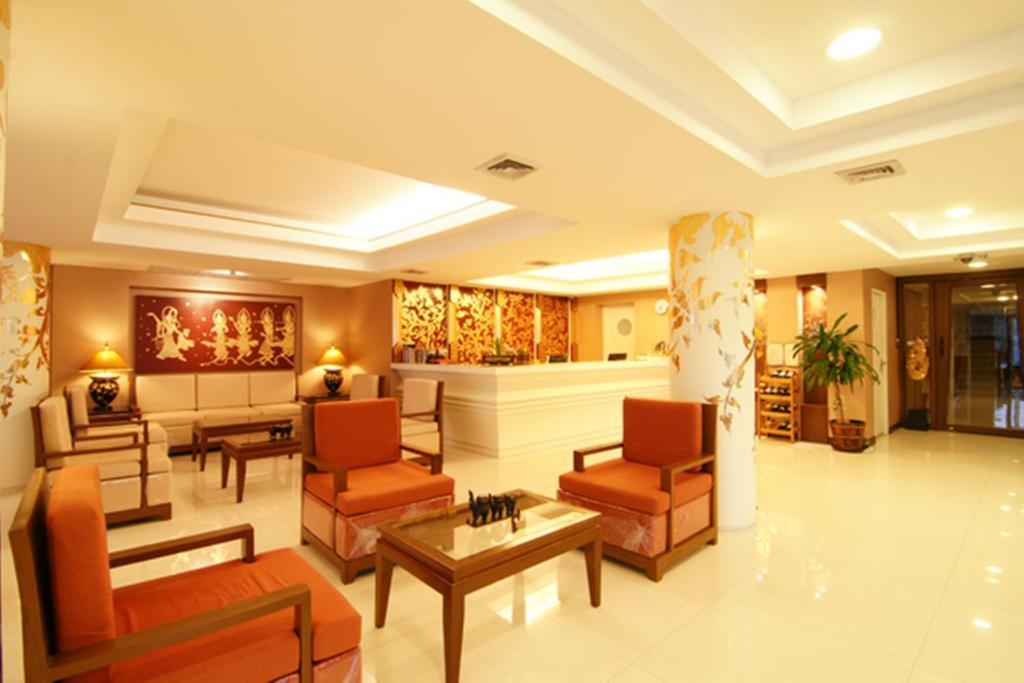 Lobby/Rezeption in der Unterkunft Mariya Boutique Hotel At Suvarnabhumi Airport