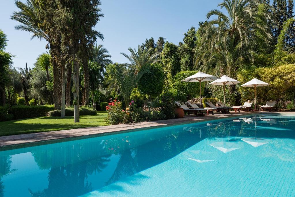The swimming pool at or near Dar Zemora