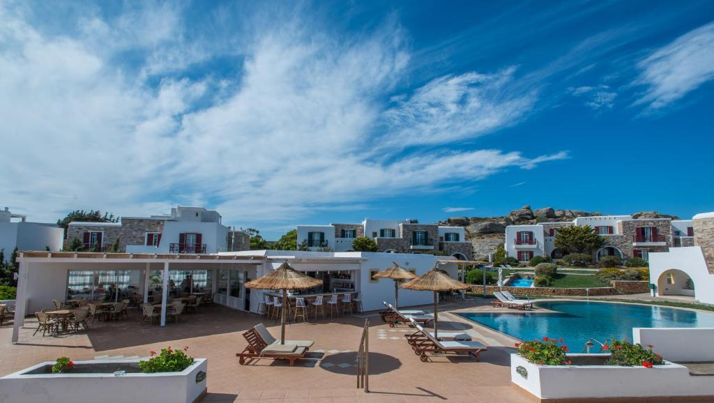 A view of the pool at Naxos Palace Hotel or nearby