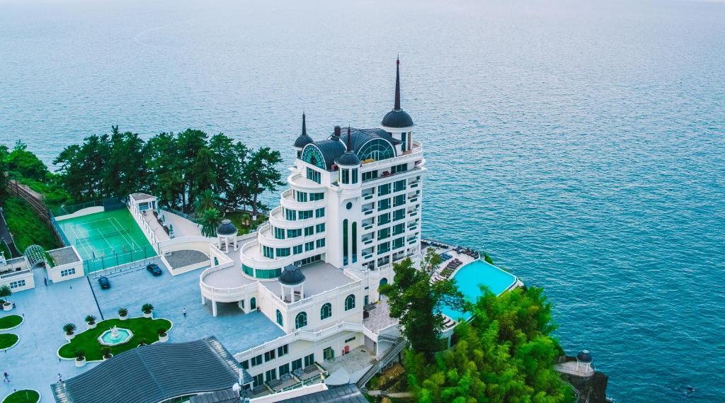 Castello Mare Hotel&Wellness Resort с высоты птичьего полета