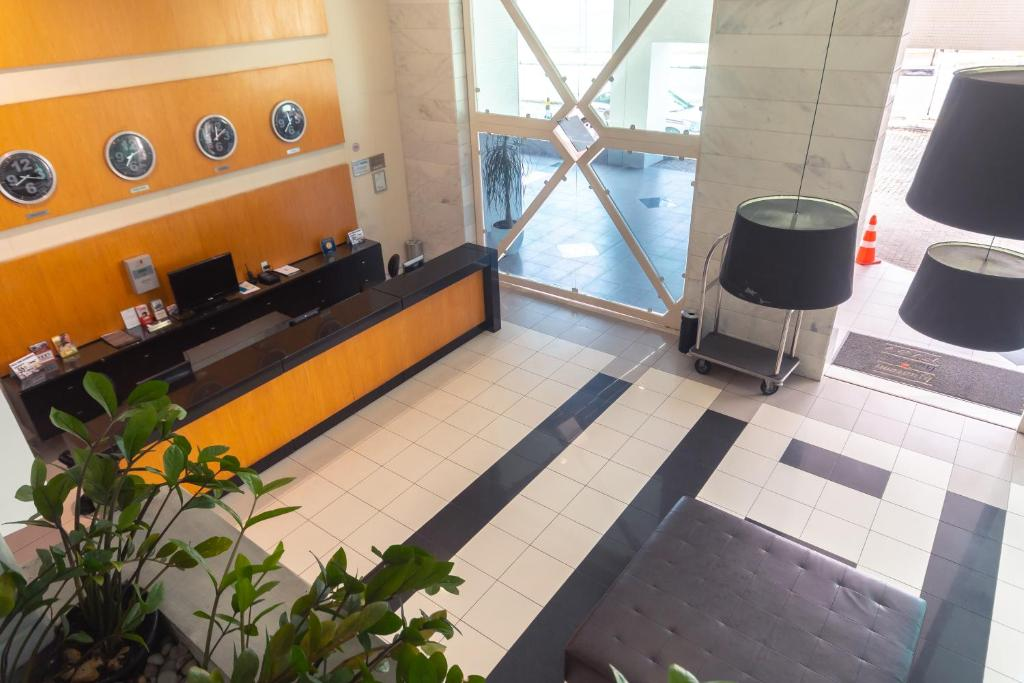 The lobby or reception area at Iguatemi Business & Flat