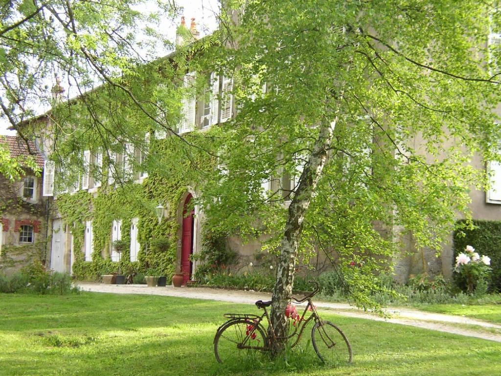 A garden outside Le Domaine De Pomone
