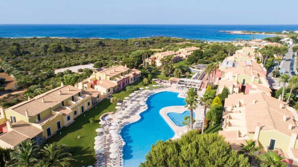 Een luchtfoto van Grupotel Playa Club