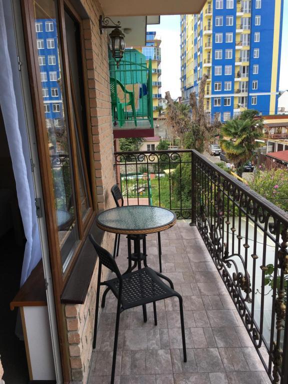 Балкон или терраса в Гостевой Дом Амалия