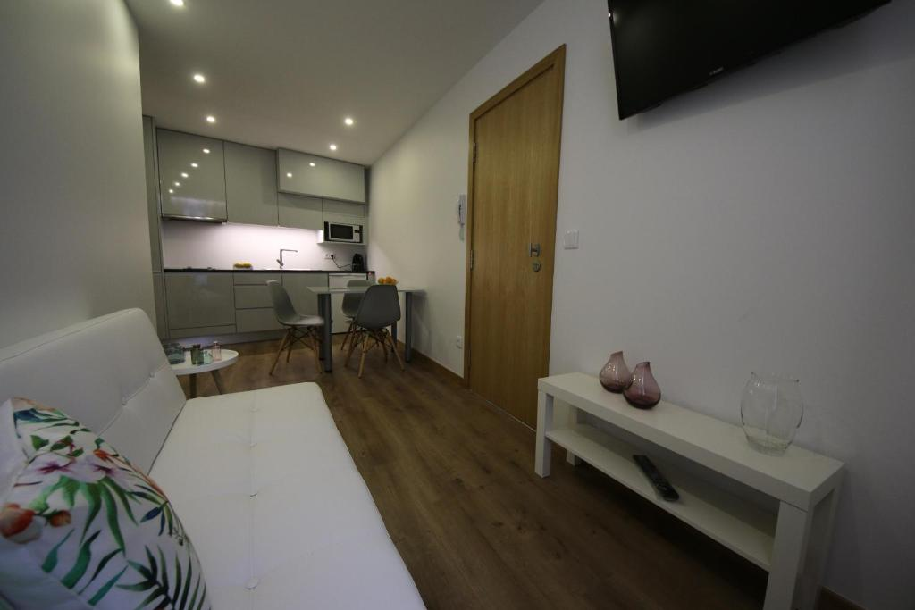 A cozinha ou kitchenette de Povoa do Mar