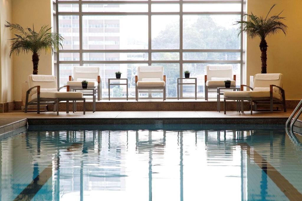 The swimming pool at or close to Grand Hyatt São Paulo