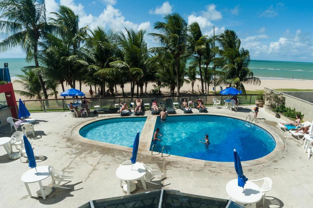 The swimming pool at or near Dan Inn Recife Mar