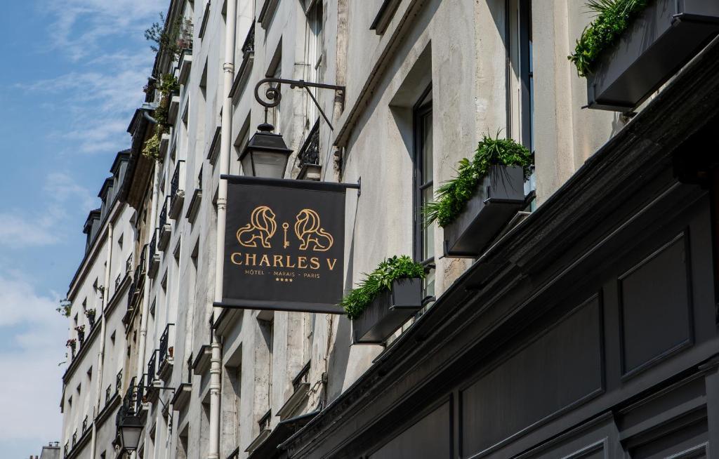 Charles V Paris, France