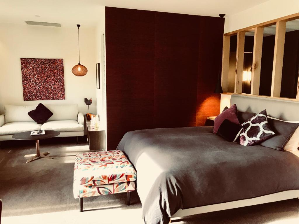 A bed or beds in a room at 187 Merrijig