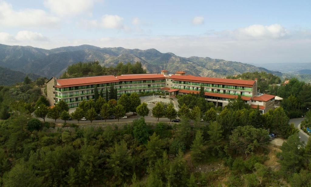 A bird's-eye view of Rodon Hotel and Resort