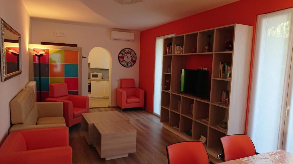 Area soggiorno di Casa Zoe