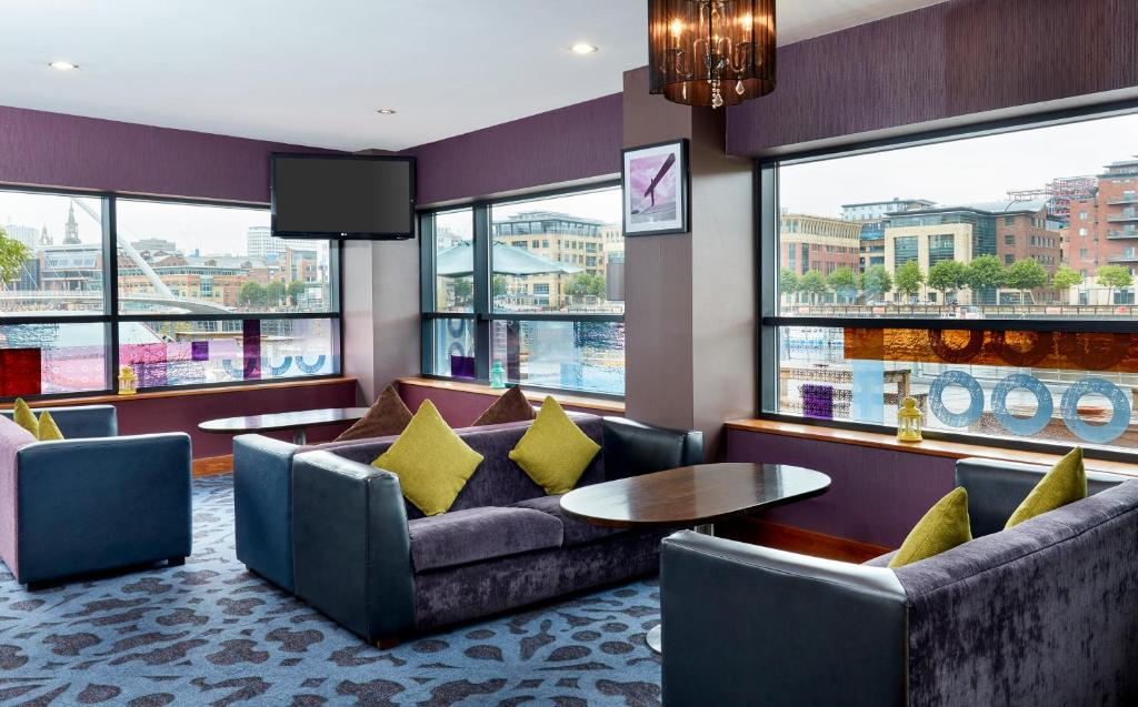 Jurys Inn Newcastle Gateshead Quays - Laterooms