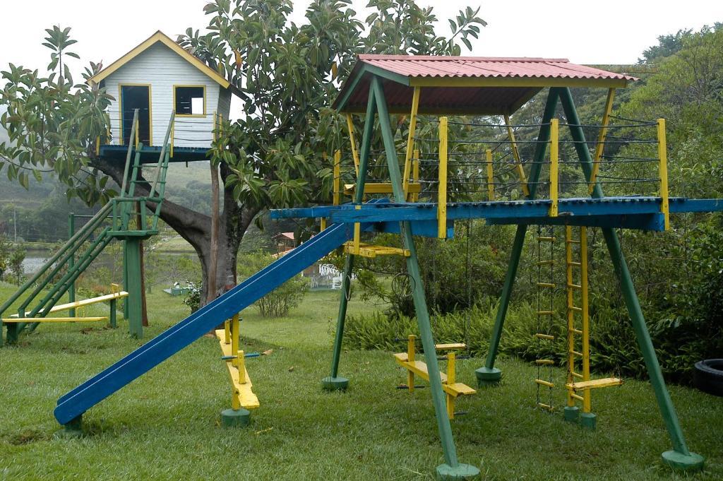 Parquinho infantil em Park Hotel Mantiqueira