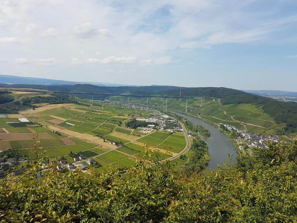 Een luchtfoto van Ferienhaus Sieglinde