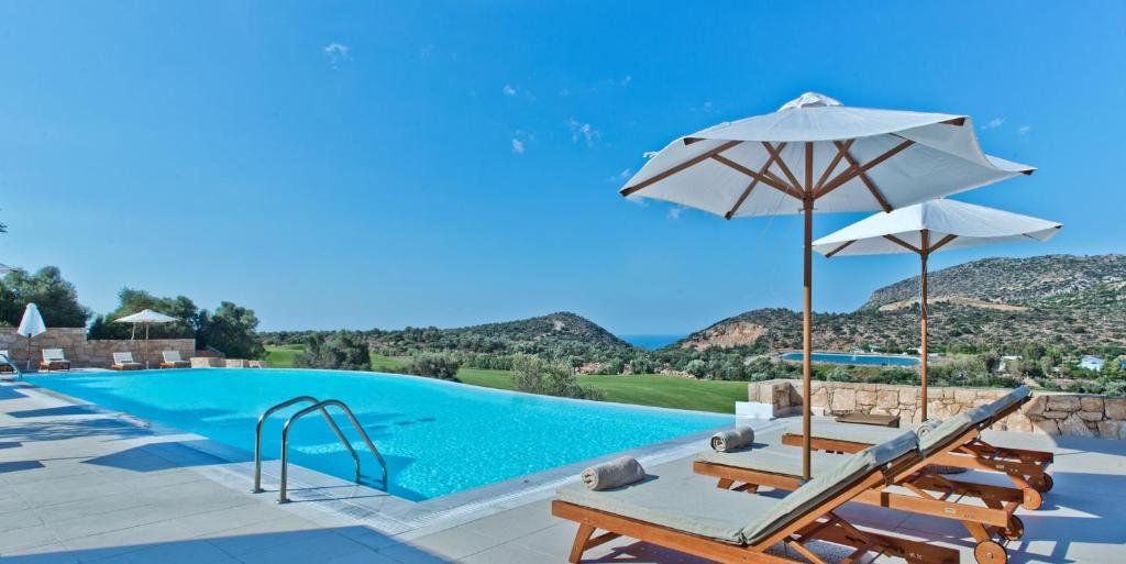 The swimming pool at or close to Crete Golf Club Hotel