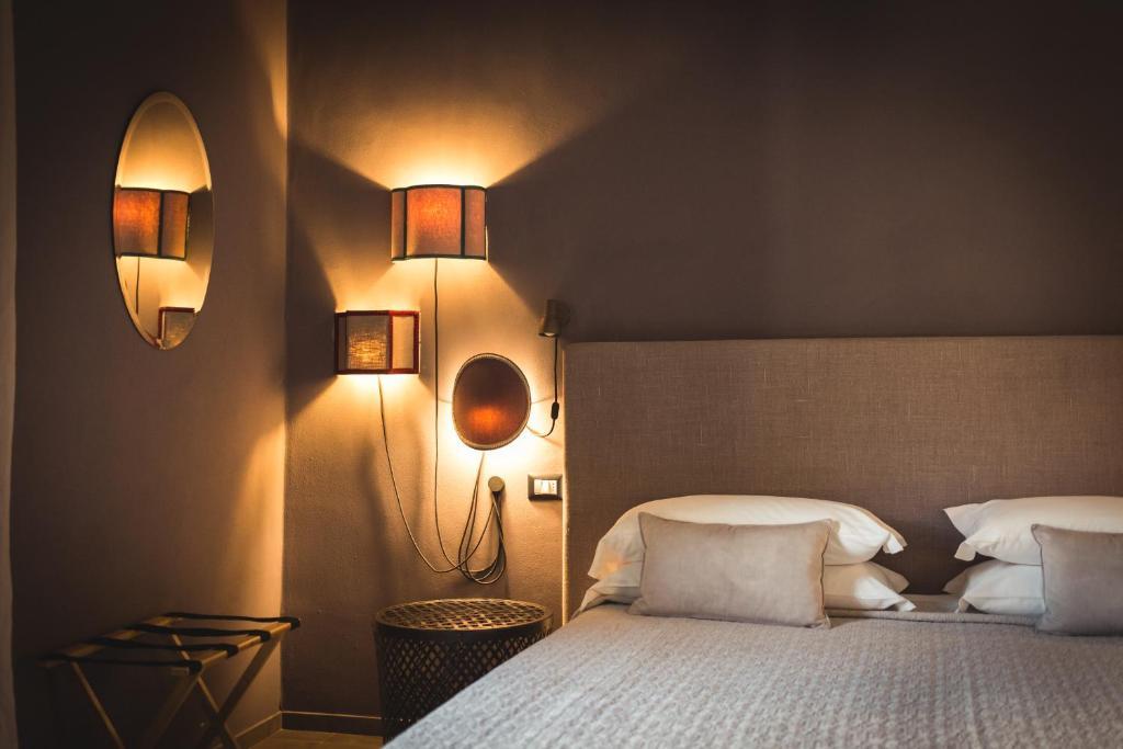 Letto o letti in una camera di Piccola Torre Maison