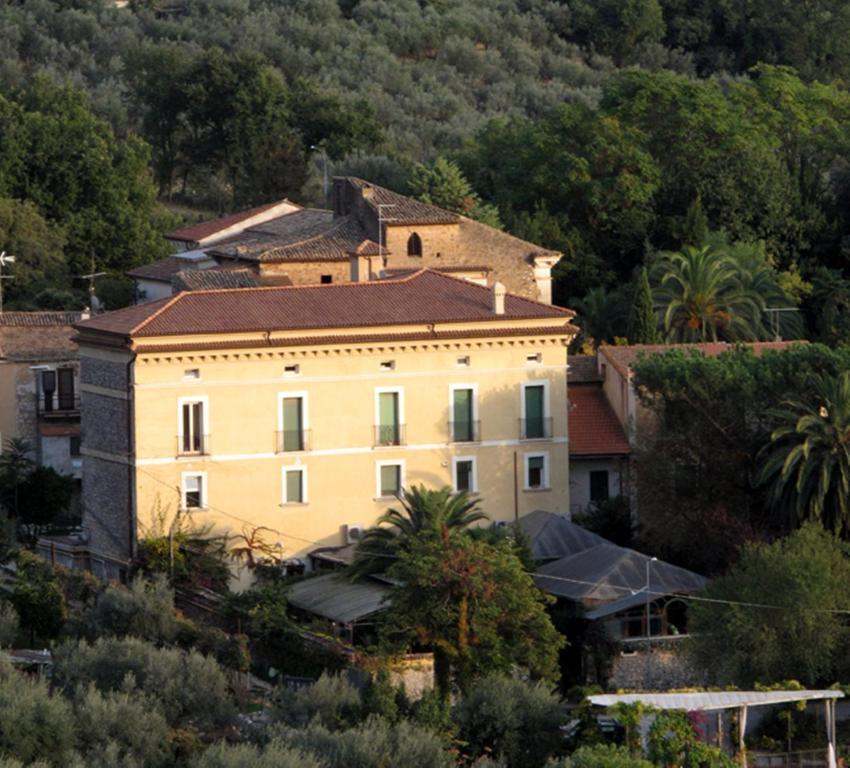 A bird's-eye view of Villa Euchelia Resort
